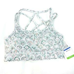 Gaiam Sports Bra Size XS Shiva Bra Josie Print